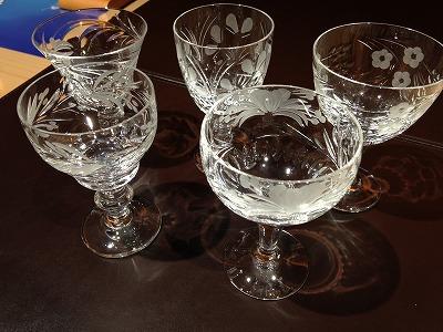 Royal Brierley ロイヤルブライアリー グラス5点まとめ 出張買取 京都 三重 和歌山 滋賀 兵庫 奈良